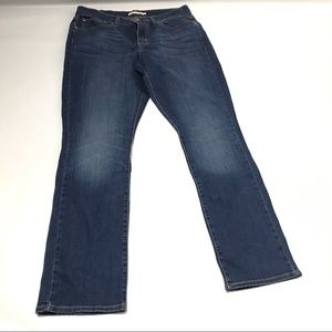 Levi's 414 Relaxed Straight Stretch Blue Jeans 31